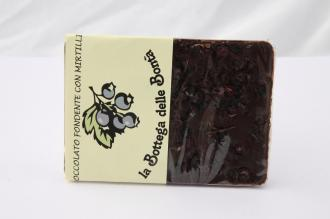 Cioccolato al Fondente con Mirtilli