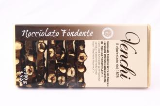 Cioccolato Fondente Extra con Nocciole Venchi