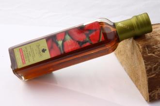 Condimento Olio Extravergine di Oliva e Peperoncino