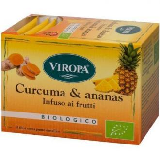 Curcuma e Ananas Viropa
