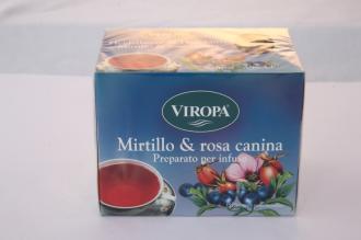 Infuso Mirtillo e Rosa Canina Viropa