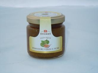 Salsa Dolce Pomododori Verdi e Fichi